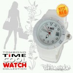"COOLWATCH ""TIME"" CHRONO STYLE WHITE !"