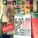 WE PAINT YOU IN POPART