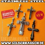 KREUZE aus EDELSTAHL – CROSS COLLECTION