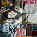 WE PAINT YOU! Handgemalte Popart Portraits
