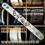 """""""NEWSPAPER STYLE"""" ARMBAND 