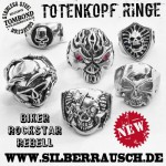 TOTENKOPF RING | be a rebel / rockstar / biker