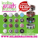 "Aktions Set ""Armband mit 3 Buttons"""