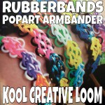 LOOMBANDS – POPART ARMBÄNDER – RUBBERBANDS