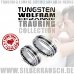 Trauringe in Tungsten Ceramic Schmuck aus Neuss