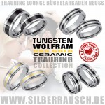 TRAURINGE COLLECTION TUNGSTEN CERAMIC